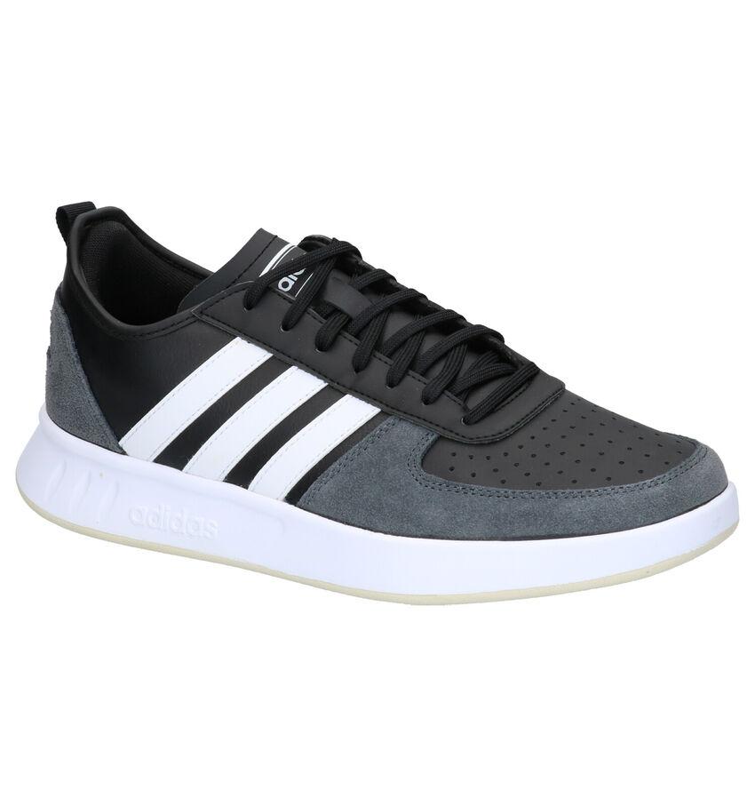 adidas Court 80S Zwarte Sneakers