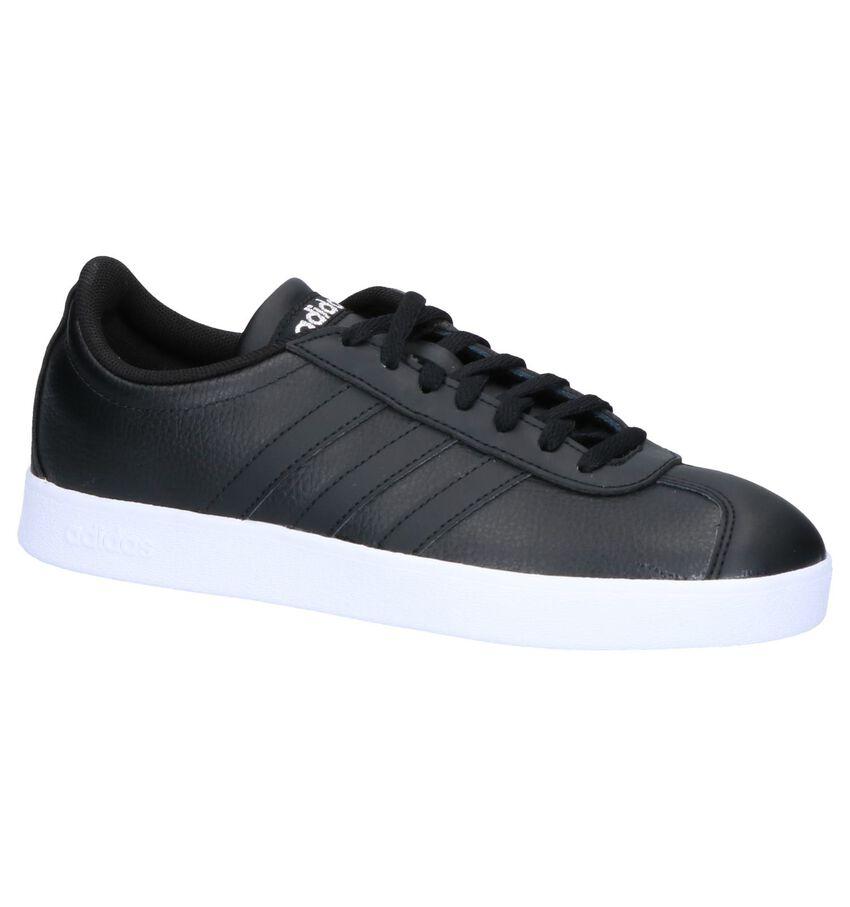Adidas VL Court 2.0 Zwarte Sneakers