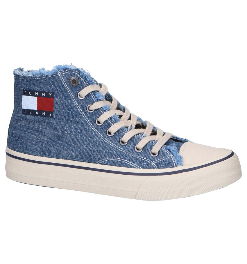 Blauwe Sneakers Tommy Hilfiger Hightop Tommy Jeans