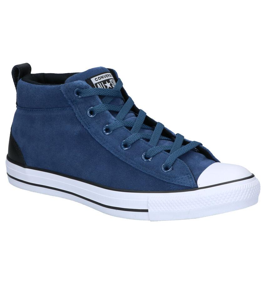 Converse AS Street Mid Blauwe Sneakers