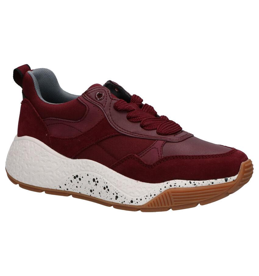 Esprit Sascha Lu Bordeaux Sneakers