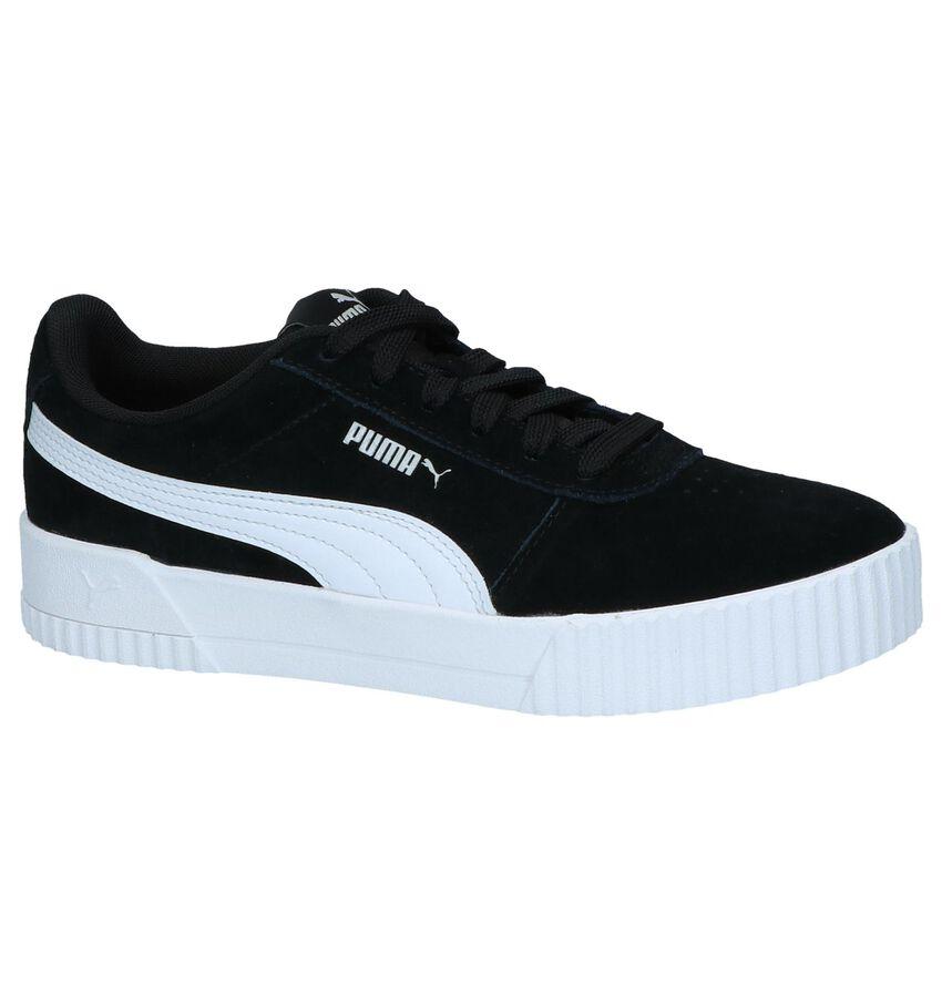 Zwarte Sneakers Puma Carina