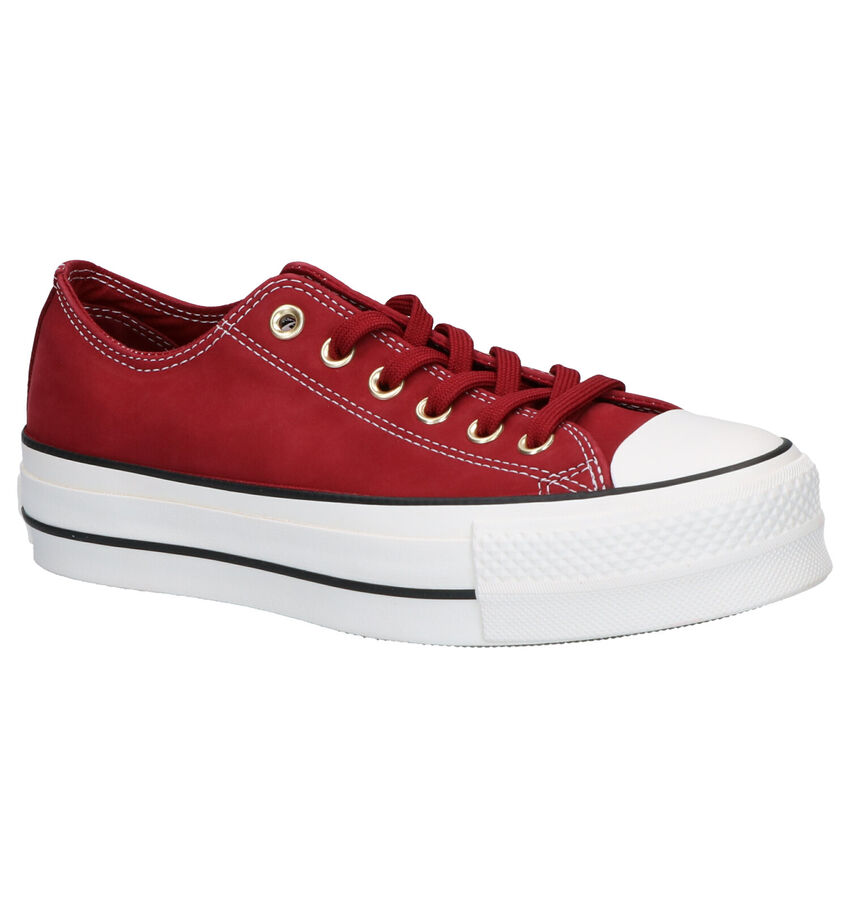 Converse Chuck Taylor AS Lift OX Rode Sneakers