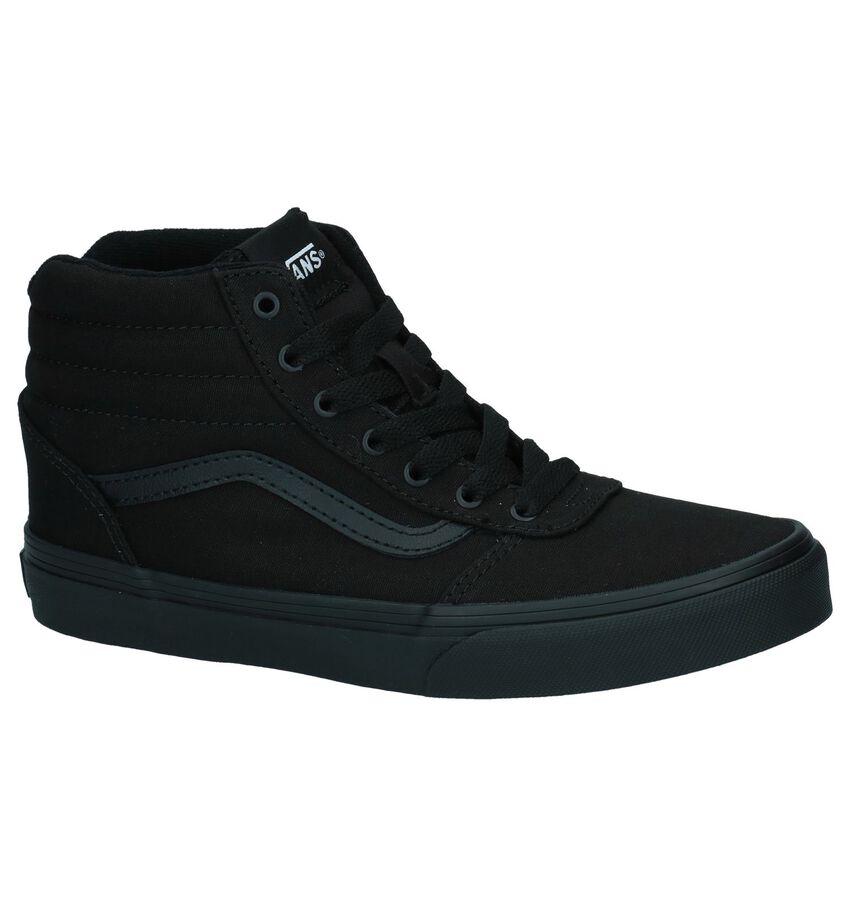 Zwarte Hoge Skateschoenen Vans Ward