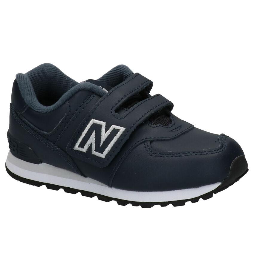 New Balance YV574 Blauwe Sneakers