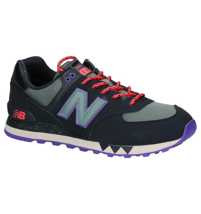 New Balance ML574 Zwarte Sneakers