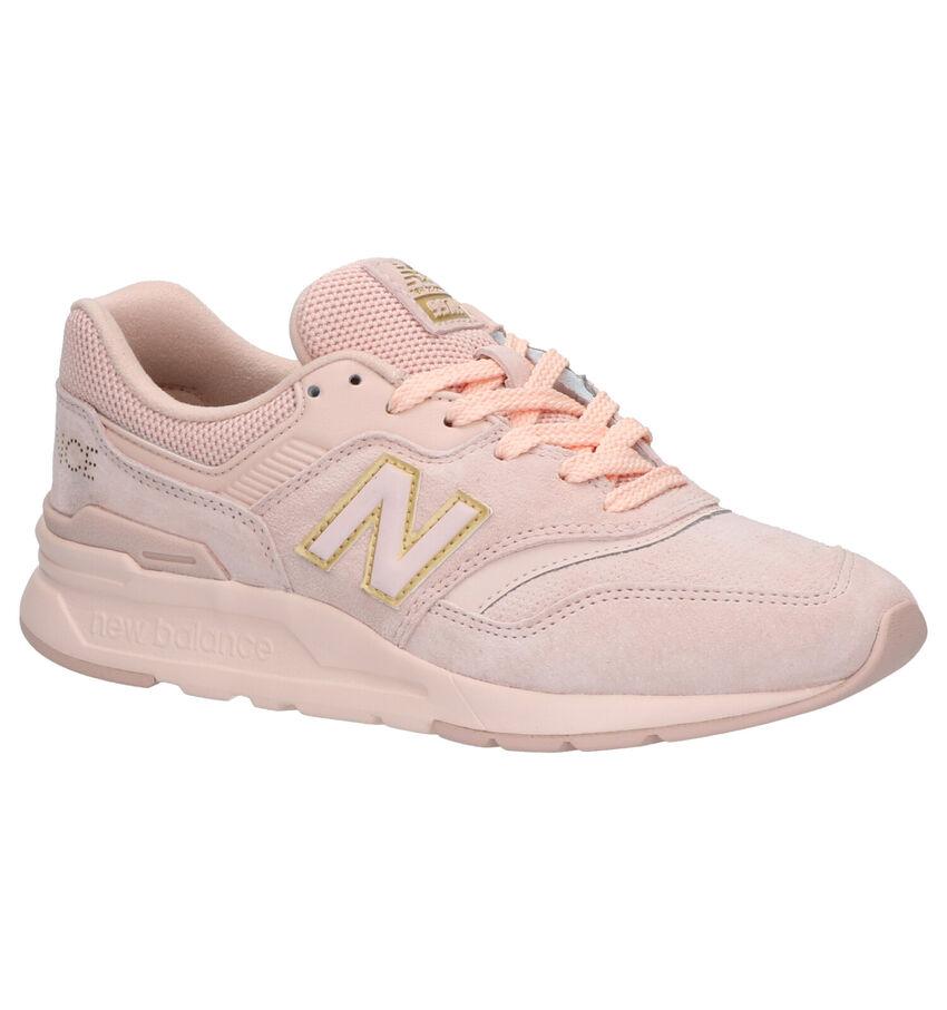 New Balance CW 997 Roze Sneakers