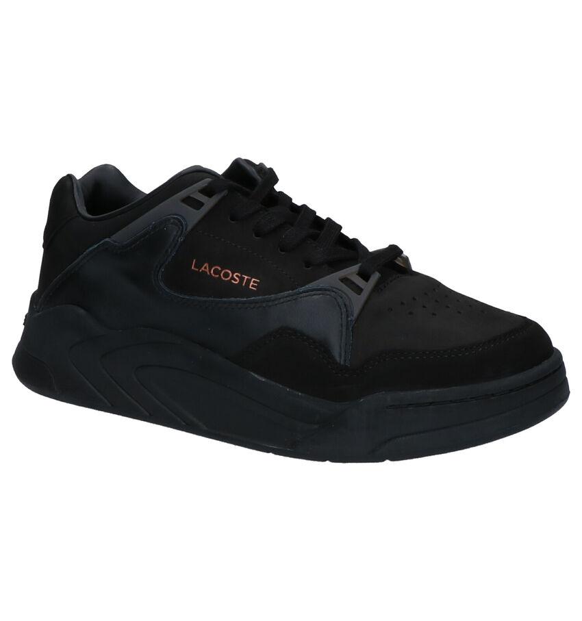 Lacoste Court Slam Sneakers Zwart