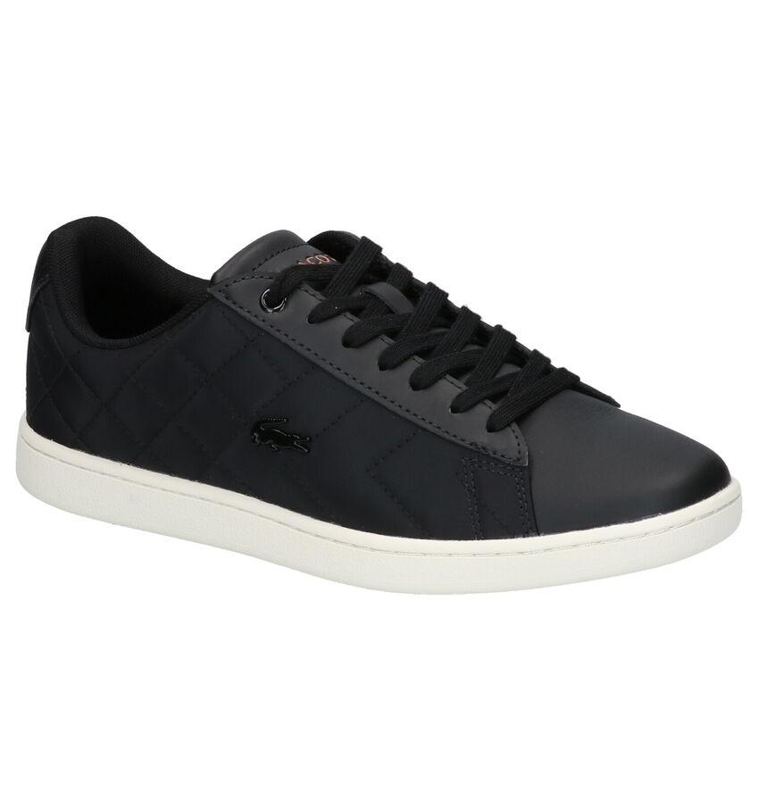 Lacoste Carnaby Evo Zwarte Sneakers