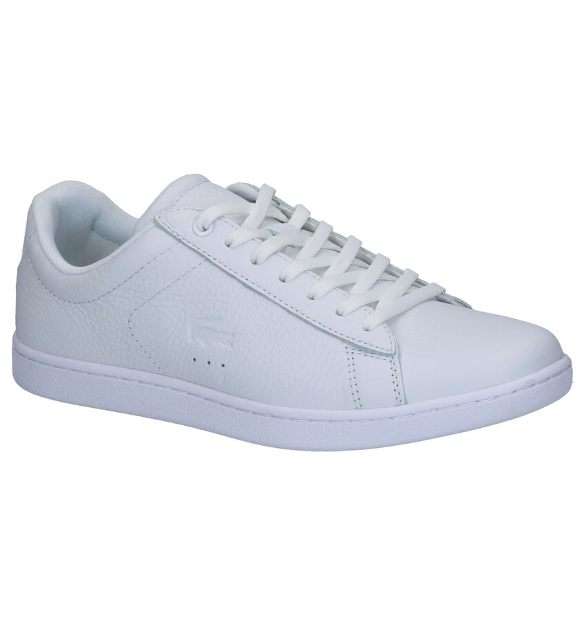 Lacoste Carnaby Evo Witte Sneakers