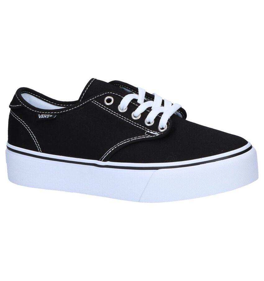 Vans Camden Platform Zwarte Skateschoenen