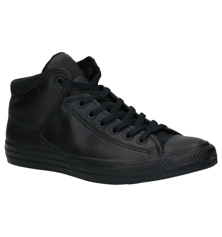 Converse AS Street Hi Zwarte Sneakers