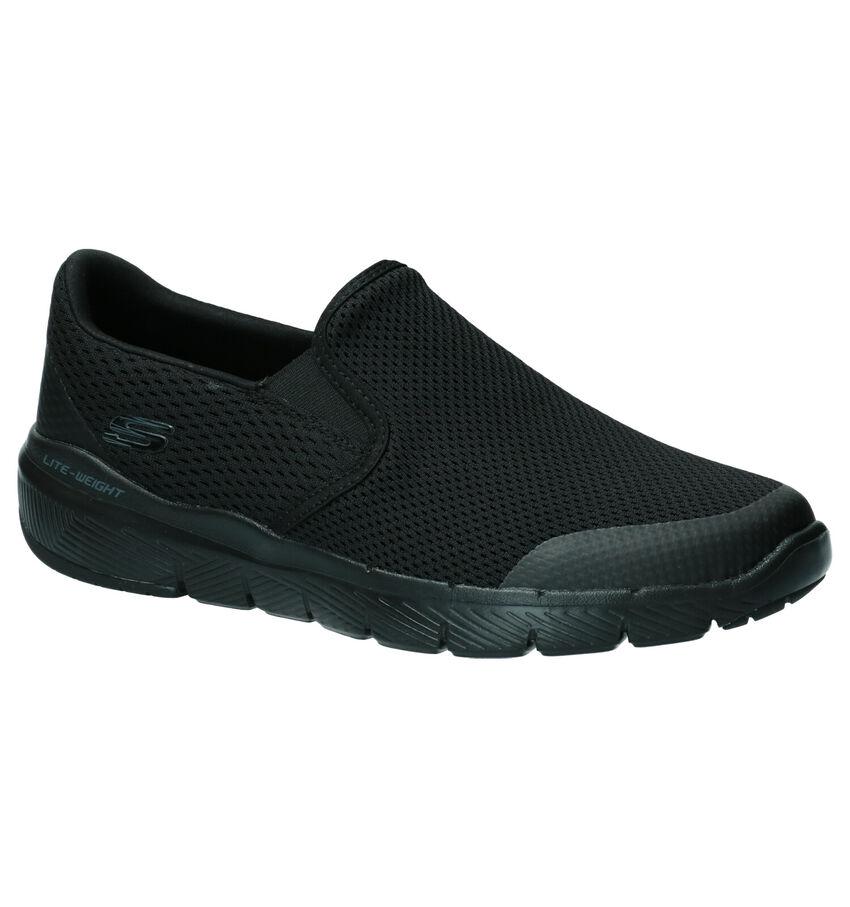 Skechers Flex Advantage Zwarte Slip-on Sneakers