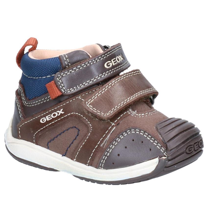 Geox Bruine Hoge Schoenen