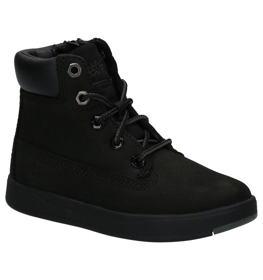 Timberland Davis Square 6 Inch Boots Zwart