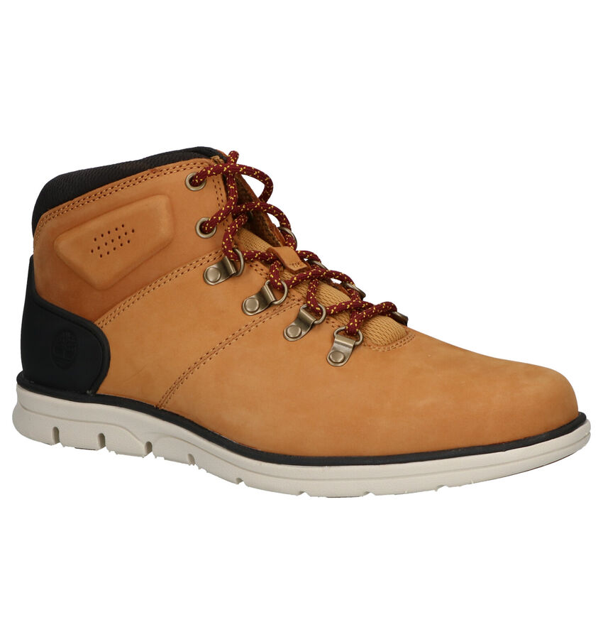 Timberland Bradstreet Hiker Cognac Boots