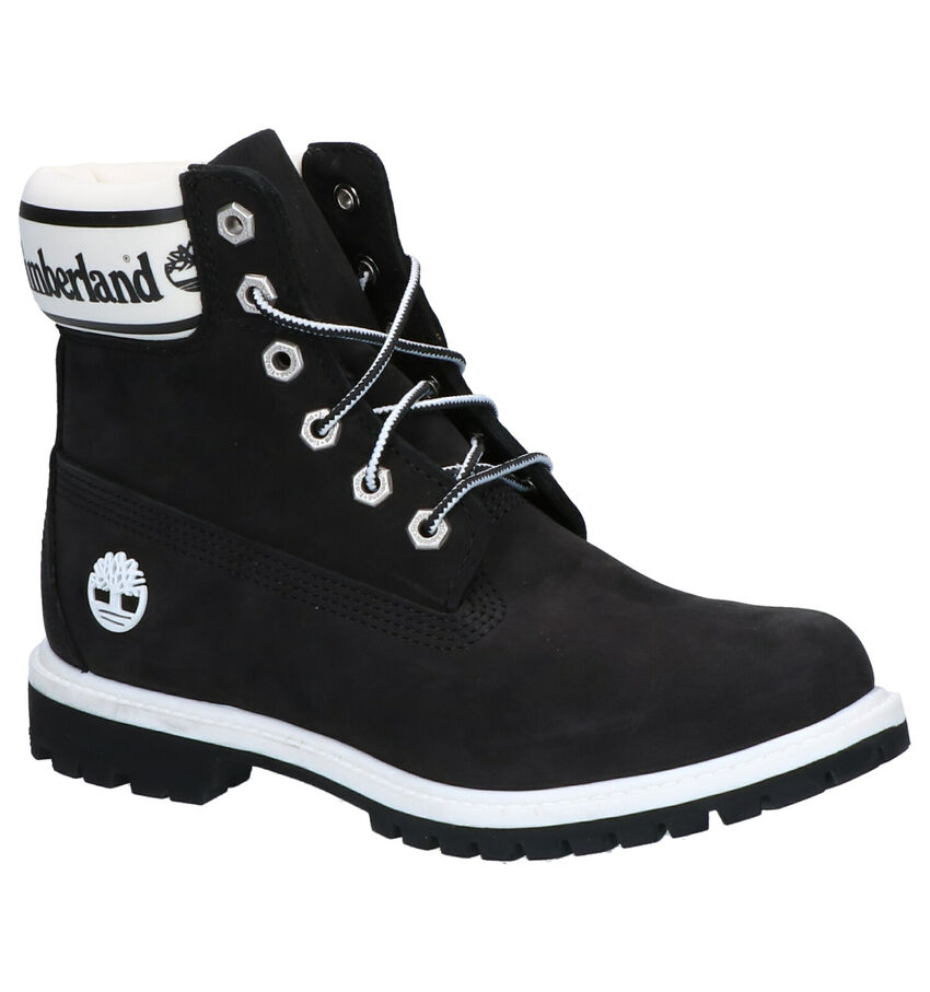 Timberland 6 Inch Premium Zwarte Boots
