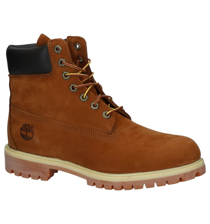Timberland 6 Inch Premium Cognac Boots