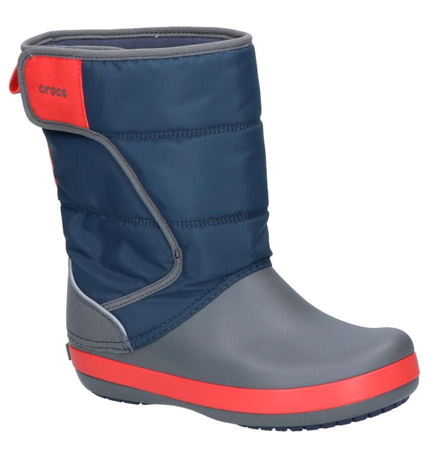 Crocs Lodgepoint Blauw-Grijze Snowboots
