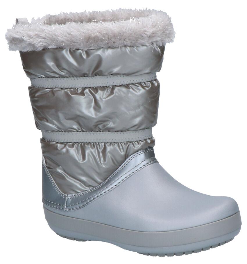 Crocs Crocband Zilveren Snowboots