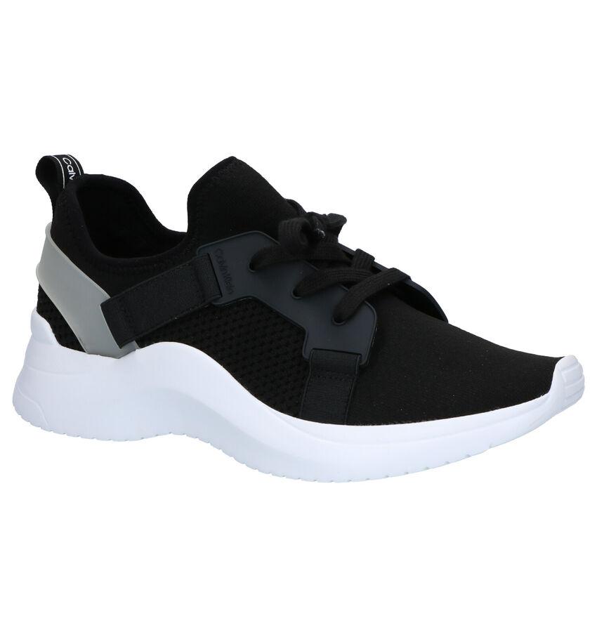 Calvin Klein Unni Zwarte Slip-on Sneakers