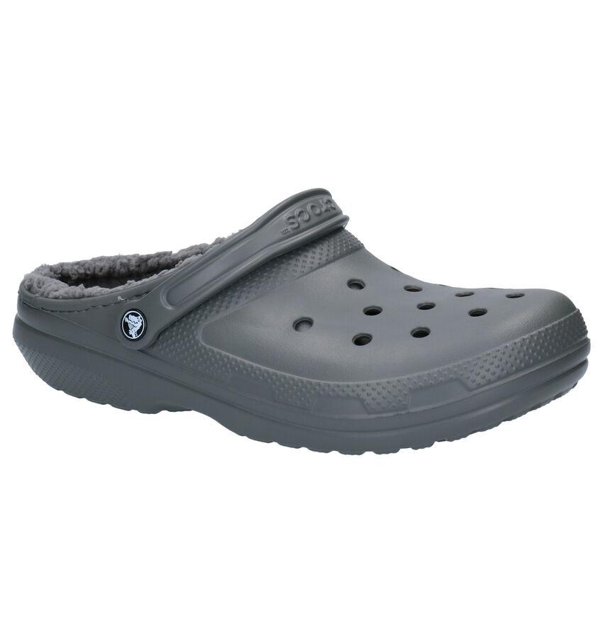 Crocs Classic Grijze Pantoffels