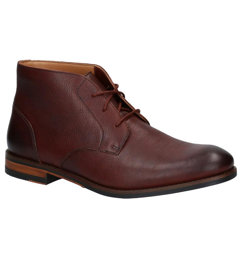 Clarks Flow Top Chaussures Hautes en Marron