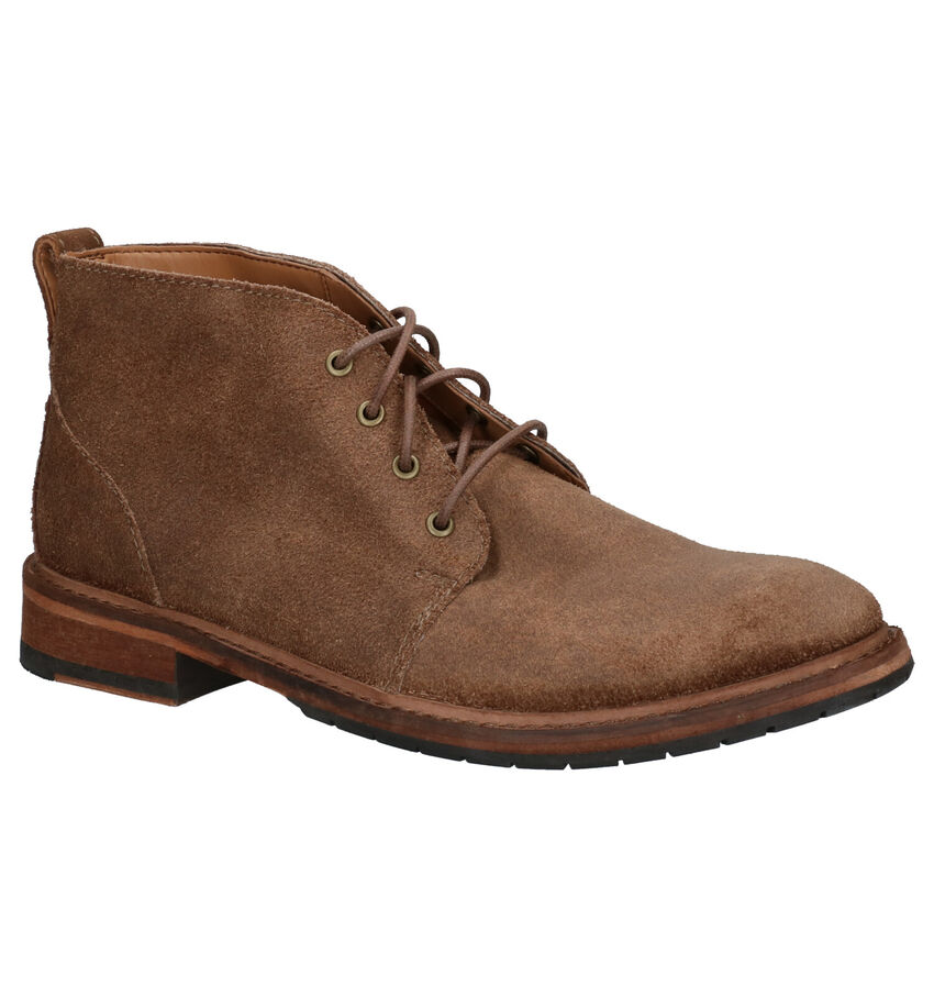 Clarks Clarkdale Base Taupe Boots