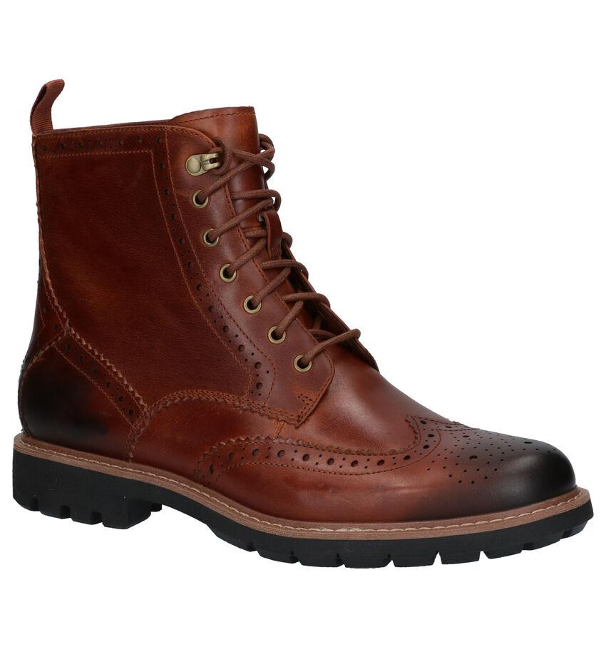 Clarks Batcompe Lord Cognac Boots