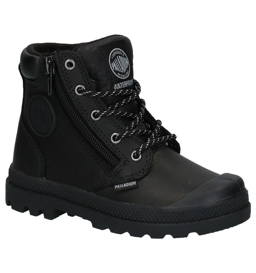 Palladium Pampa Hight Cuff Zwarte Boots