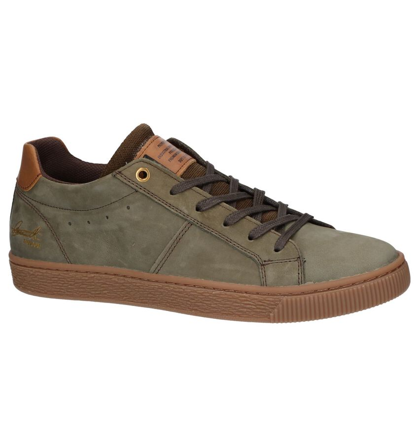 Kaki Casual Veterschoenen Bullboxer