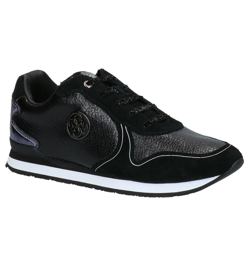 Guess Tessa Zwarte Sneakers