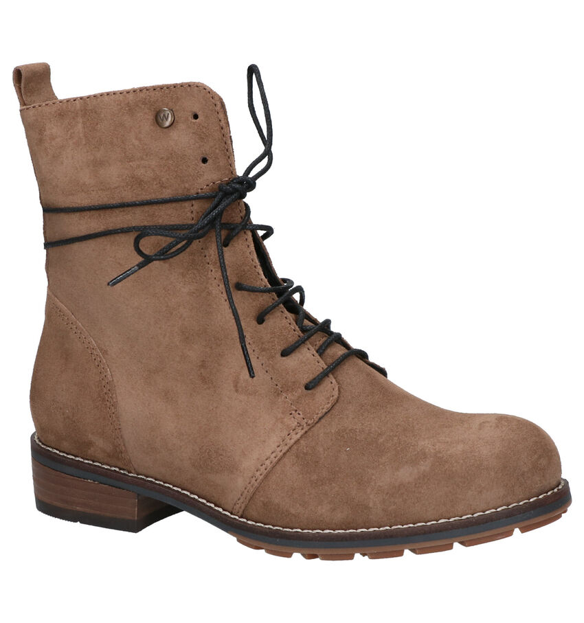 Wolky Murray Taupe Boots