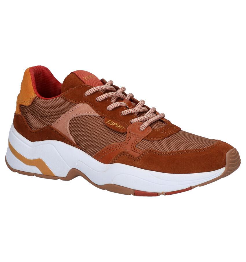 Esprit Cognac Sneakers