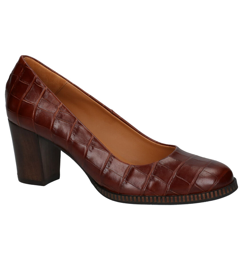 Jhay Cognac Pumps