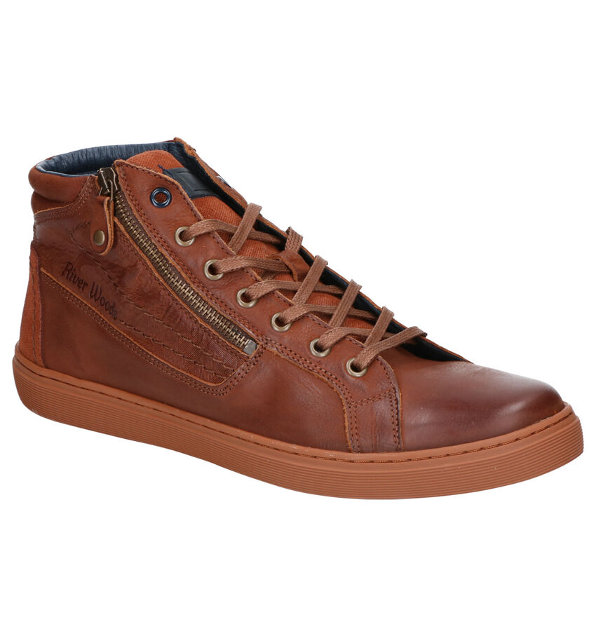 River Woods Rabbi Cognac Veterschoenen