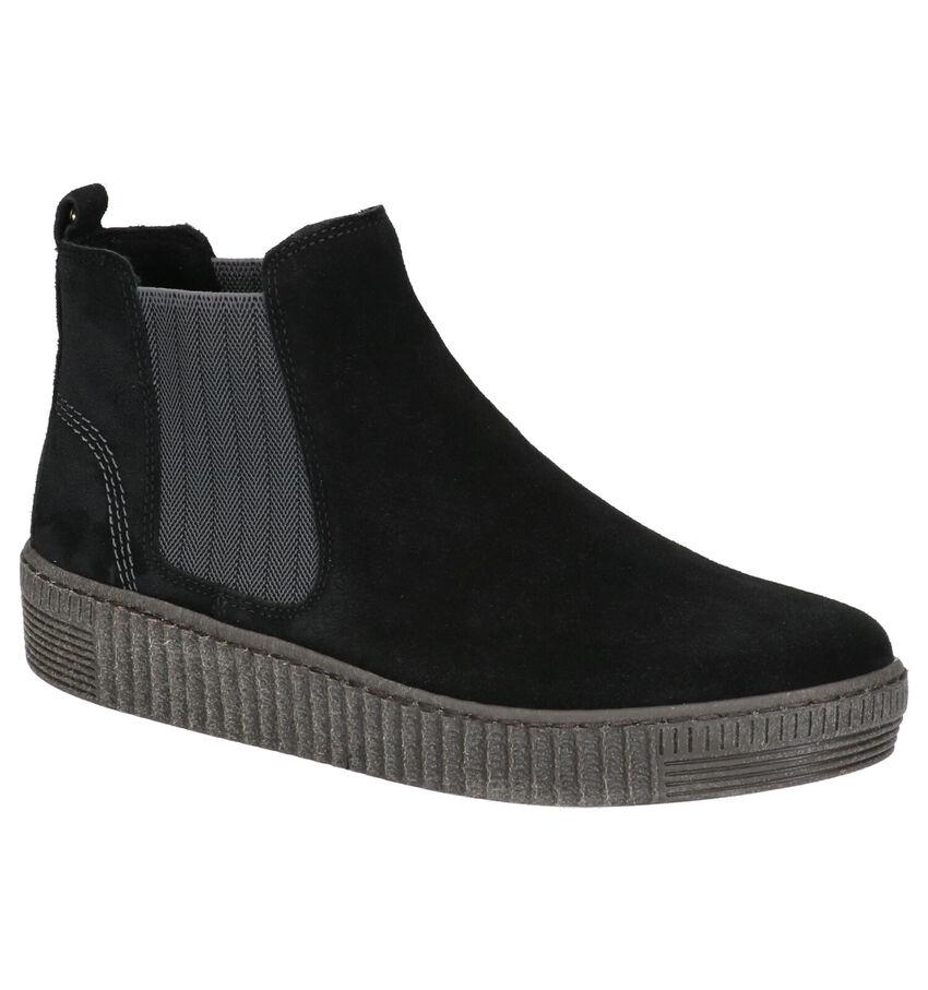 Gabor Best Fitting Zwarte Hoge Schoenen