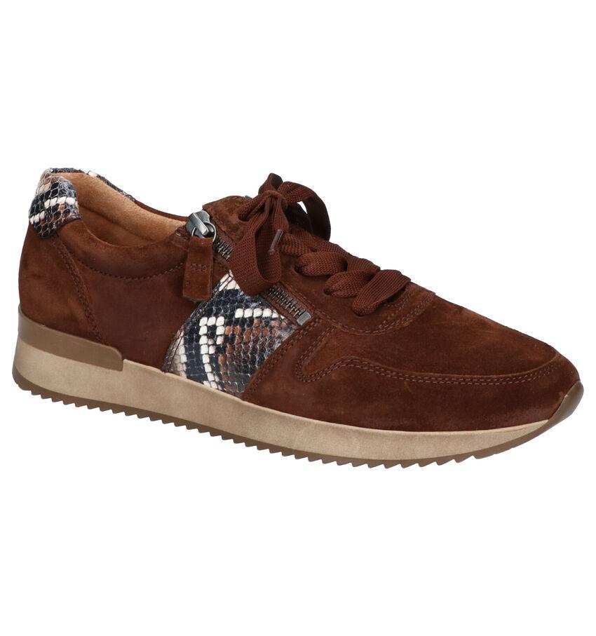 Gabor Best Fitting Bruine Sneakers