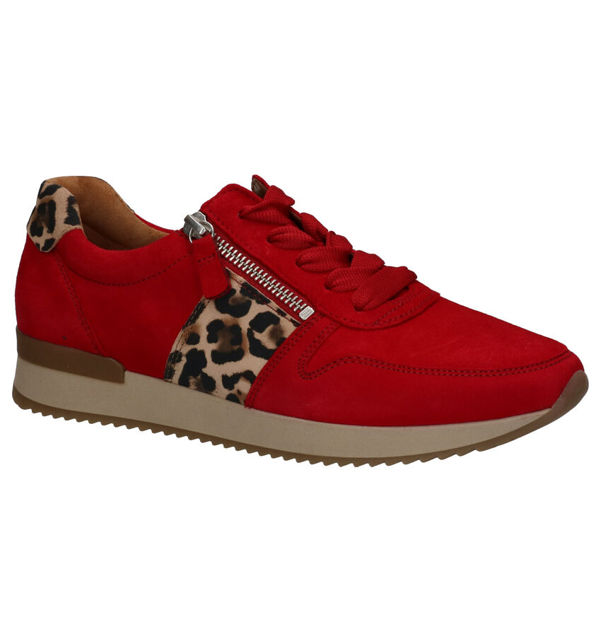 Gabor Best Fitting Rode Sneakers
