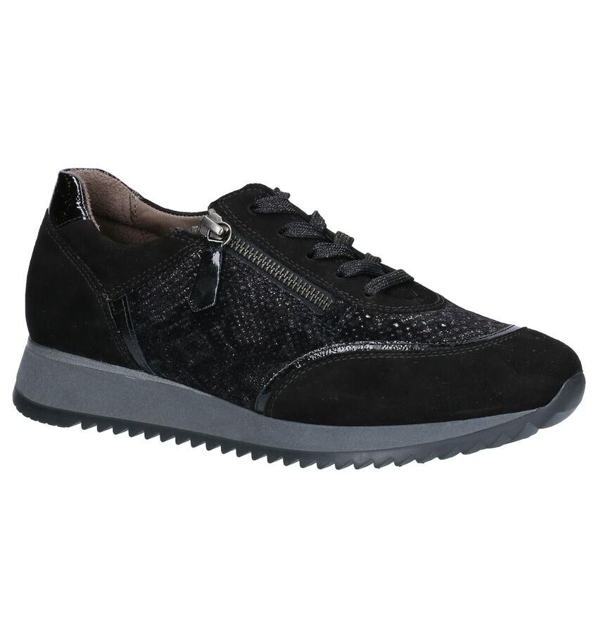 Gabor Comfort Zwarte Lage Schoenen