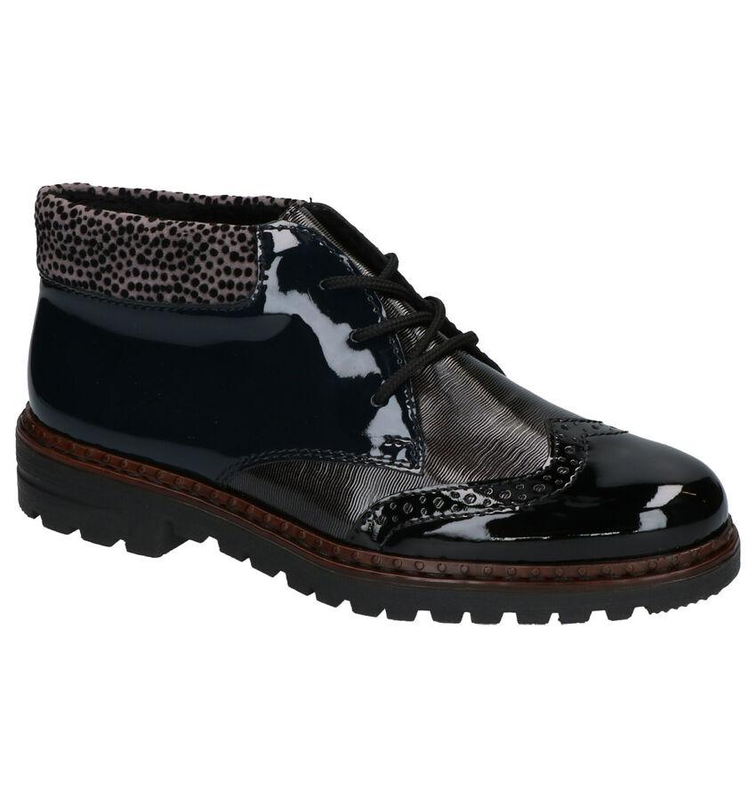 Rieker Zwarte Hoge Schoenen