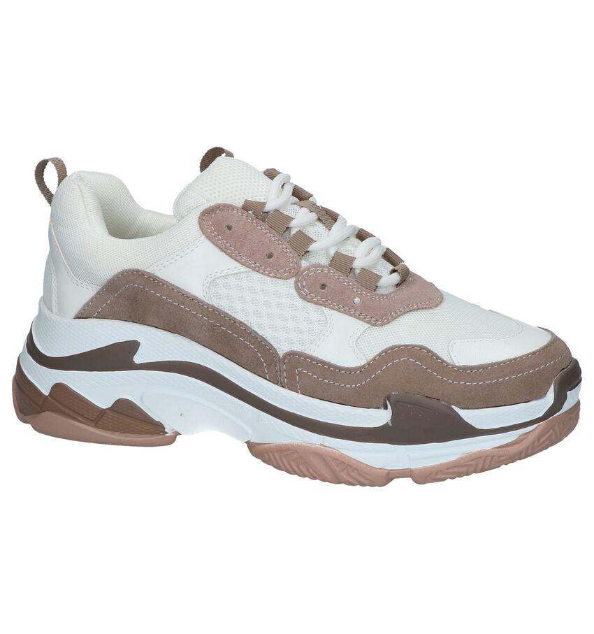 Ecru Nineties Sneakers Shoecolate