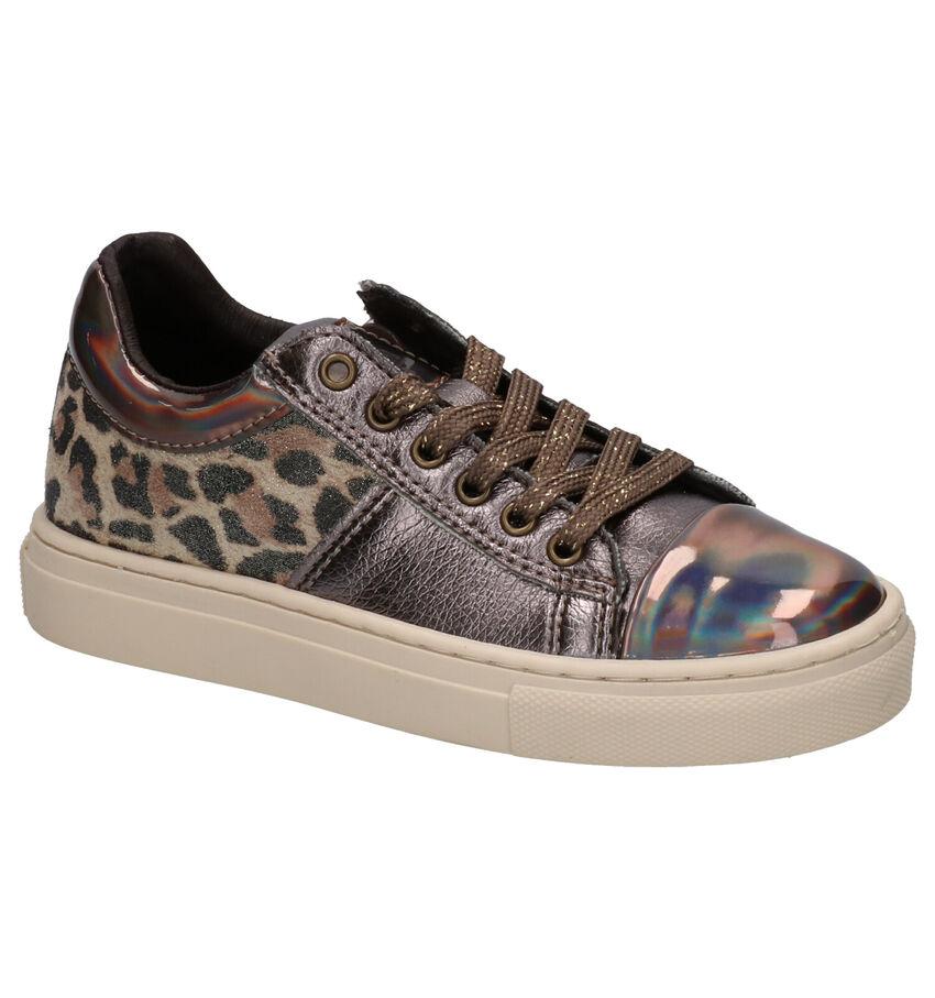 Kipling Kala Bronzen Sneakers