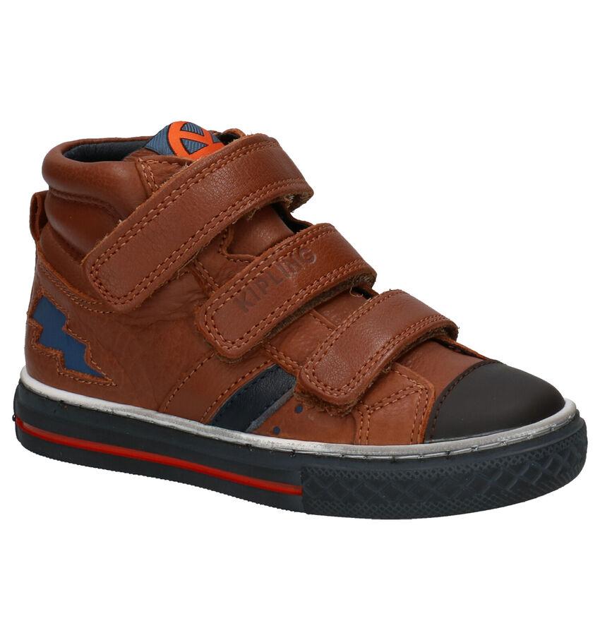 Kipling Cognac Sneakers