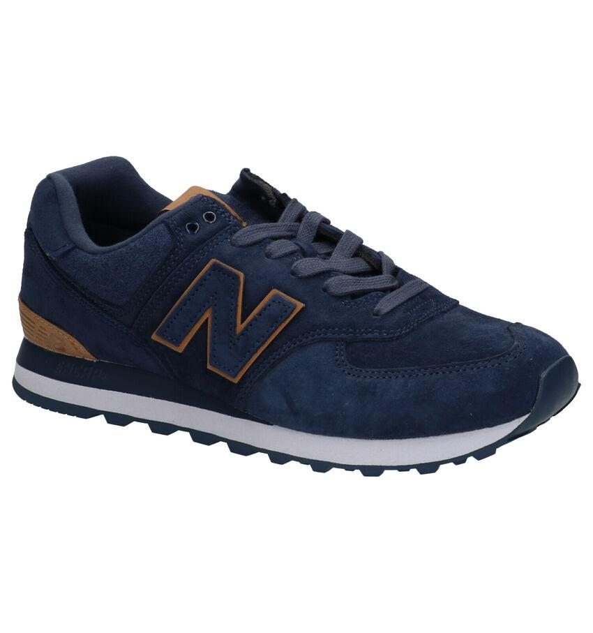 New Balance 574 Blauwe Sneakers