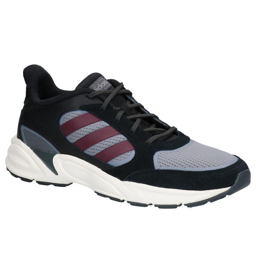 adidas 90S Valasion Zwart-Grijze Sneakers