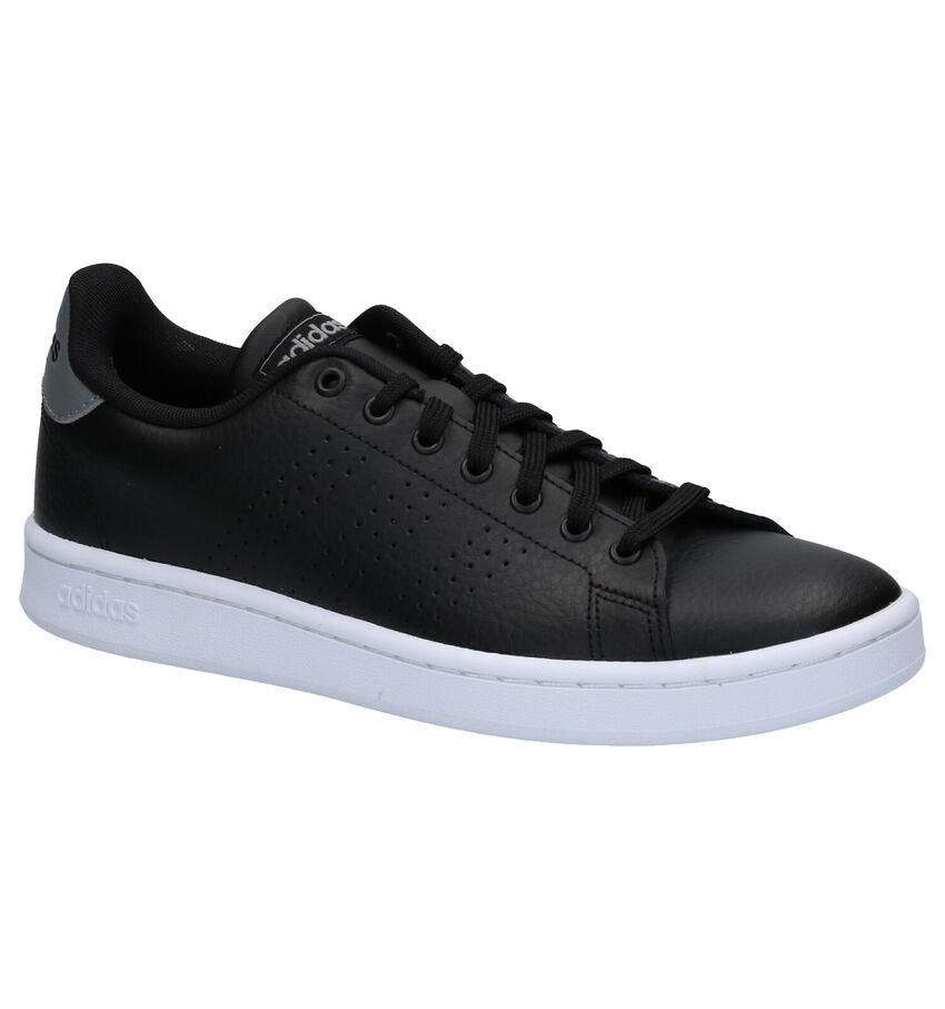 adidas Advantage Zwarte Sneakers