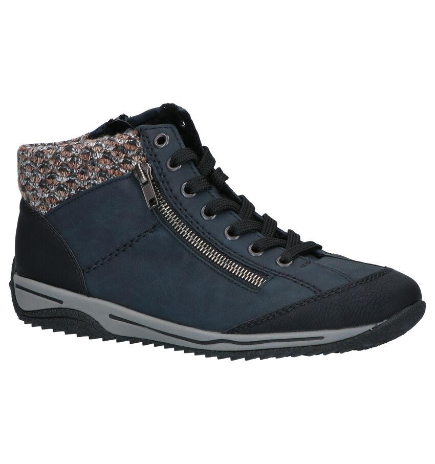 Rieker Blauwe Boots
