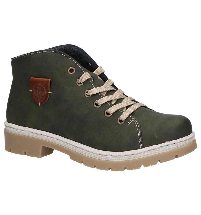 Rieker Donkergroene Boots