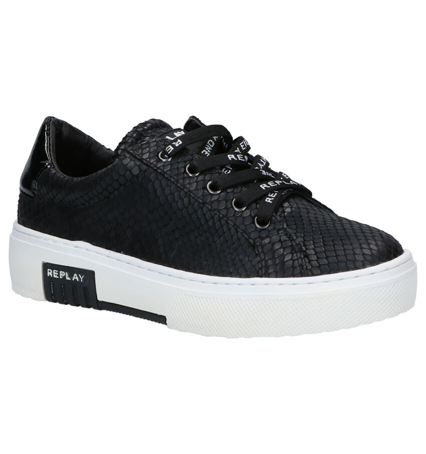 Replay Ginko Zwarte Sneakers